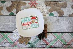 Magic Reindeer Food | Christmas Plate