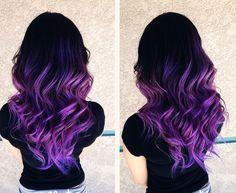 ombre hair | Tumblr #color #random #photooftheday #F4F