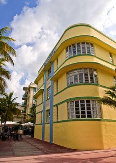 classic Miami Art Deco architecture