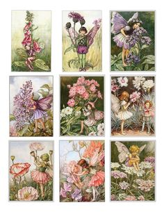Nursery Artwork: Flower Fairies by Cecily Mary Barker