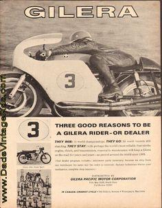 1966 Gilera motorcycles – 3 good reasons to be a Gilera rider or dealer