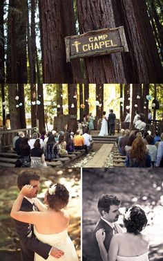 Inspiration: Weddings in the woods