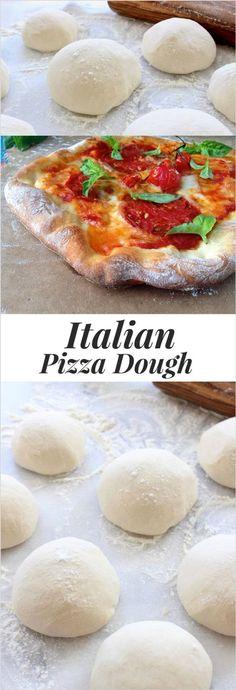 Rustic Pizza Dough Recipe ( Authentic Italian ) | Recipe