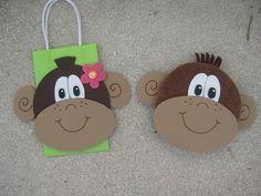 Monkey Favor Bags