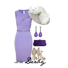 Kentucky Derby is on my Bucket List!  This would be my Kentucky Derby Day outfit!  Stylish & Classic!