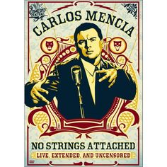 Carlos Mencia: No Strings Attached - Live, Extended and Uncensored (dvd_video)