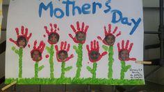 Mural Mother's Day   Unidade Laranjeiras  Nursery I A Morning