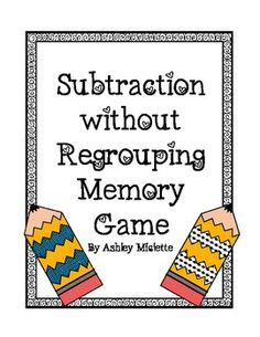 photo about Subtraction With Regrouping Games Printable known as 100 Great Subtraction regrouping visuals inside of 2013 2nd quality
