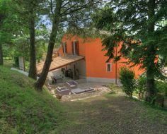 Vakantiehuis Italie, appartementen en zwembad in Le Marche