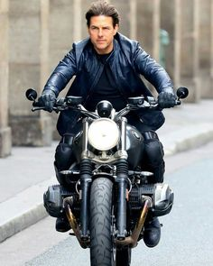 Mission Impossible 6 Tom Cruise Jacket the stylish outfit ready for you peoples in discounted price grab it now Tom Cruise, Ethan Hunt, Mission Impossible Fallout, Bmw Scrambler, Z Cam, Cruise Outfits, Hollywood Actor, Mans World, My Favorite Things