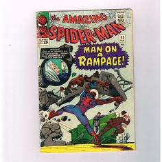 AMAZING SPIDER-MAN #32 Silver Age classic! Spidey battles Doctor Octopus!!! http://r.ebay.com/EUBs7b