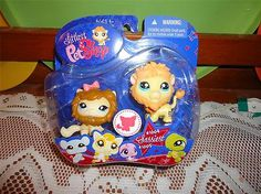 New: Littlest Pet Shop Sassiest Lions  #1004 and #1005. eBay Auction $6.95  eBay Seller ID: cabinfevercreations
