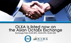 Buy and Sell OLXA #CryptoAsset Today on @OctaEx OLXA-USD at https://www.octaex.com/trade/index/market/olxa_usd OLXA-ETH at https://www.octaex.com/trade/index/market/olxa_eth OLXA-BTC at https://www.octaex.com/trade/index/market/olxa_btc/ #OctaEx #OLXA #Trade #Market #Exchange #Listed #ICO is still #live at https://www.OlxaCoin.com