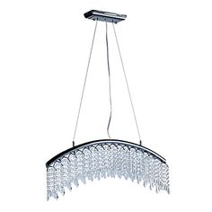 Comtemporary+Crystal+Pendant+Lights+with+8+LED+Lights+in+Arc+Design+–+GBP+£+194.87