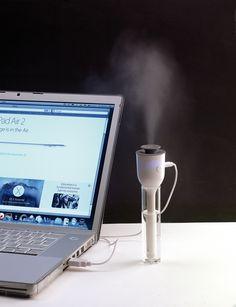 Gute Luft mit dem USB-Luftbefeuchter Climate Wer kennt das Problem nicht? Gerade wenn bei hitzigen Sommertemperaturen Arbeiten und trockener Luft in Büroräumen nötig sind, beginnt die Suche nach frischer Luft. Wir haben für Sie das ideale Werbegeschenk den USB-Luftbefeuchter Climate. Dieser Werbeartikel sorgt bei trockener Luft für ein gesundes Raumklima.