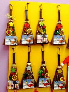 20+ DIY ιδέες για χειροποίητα ΗΜΕΡΟΛΟΓΙΑ Christmas Crafts For Kids, Winter Christmas, Christmas Time, Christmas Decorations, Christmas Ornaments, Christmas Ideas, Christmas Calendar, Educational Crafts, Xmas Gifts
