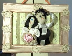 just married by recyclingroom on Etsy, $70.00
