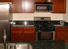 Luxurious Shine Butterfly Green Granite Kitchen Countertops