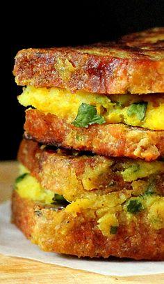 Vegan Samosa French Toasts (Gluten, dairy, egg, corn, soy, nut free) . . .