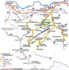 esisenstrasse www.randegg.at Anton, Maps, Communities Unit, Landing Pages, Blue Prints, Map, Cards
