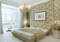 Mural of Wonderful Bedroom Wall Design with Summer House Ideas and  Modern Area Rug