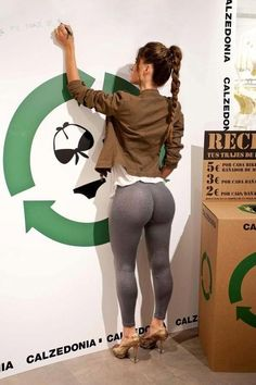 leggings as pants yoga pants spandex leggings hot sexy butt ass hottest girl woman babe skinny jeans painted on body…