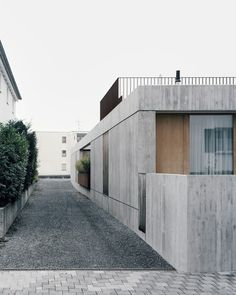Haus G is a minimalist house located in Vorarlberg, Austria, designed by Bechter Zaffignani Architekten. A typical neighborhood, like any other neighborhood in Vorarlberg's Rhine Valley, characterizes the environment of the new building. (2)