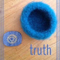 Throat Chakra Bowl with Engraved Blue by snowytreedesign on Etsy #chakra #throatchakra #chakrastone #chakrabowl #vishuddha #yoga #meditation #sacredspace #truth #chakras