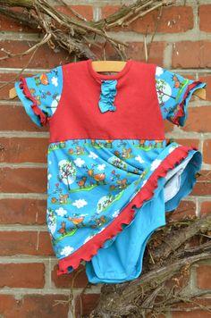 Bodykleid Luisa Gr. (74-)80; Freebook von Schnabelina schnabelina.blogspot.de