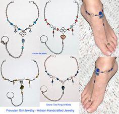 DIY Foot Jewelry