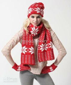 Stylize Yourself With Christmas Scarves!