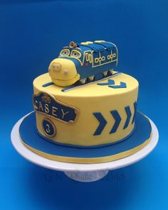 Chuggington Birthday Cake By Olive Parties Olive Parties Cakes - Chuggington birthday cake