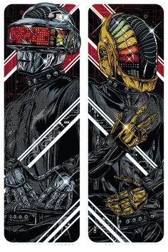 Daft Punk by Rhys Cooper