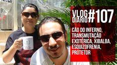Vlog Diário #107 - Cão do Inferno, Transmutação Exotérica, Xibalba, Esqu...