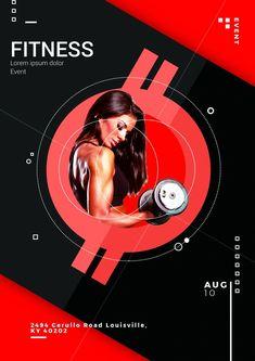 Creative Design Idea: Fitness Event Flyer PSD Templates Download Free Fo...