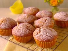 Olive Oil Muffins : Recipes : Cooking Channel