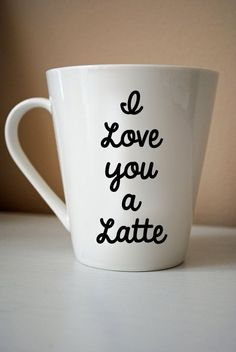 Who do you love a latte? #Coffee #MrCoffee #Mug