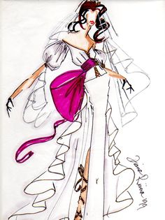 Bridal Couture Illustration II by *shadowsphere21 on deviantART