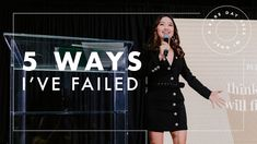 5 Ways I've Failed As An Entrepreneur Jenn Im, Personal And Professional Development, Youtube Thumbnail, Social Work, 5 Ways, Fails, Entrepreneur, How To Become, Challenges