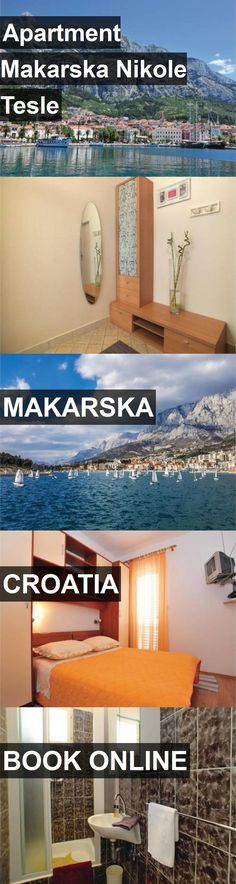 Apartment Makarska Nikole Tesle in Makarska, Croatia. For more information, photos, reviews and best prices please follow the link. #Croatia #Makarska #travel #vacation #apartment