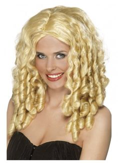 Film Star Blonde Spiral Curls Ringlets Costume Wig. Film Star Costume Wig, Blonde, Long with Spiral Curls You will love how you look and feel wearing this quality costume wig.   Contents include:  Wig (accessories are not included) www.thewigoutlet.com.au