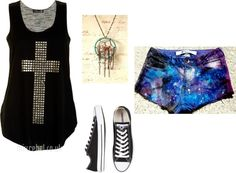 """Untitled #418"" by bloodmoon31 ❤ liked on Polyvore"
