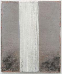 Norbert Schwontkowski (German, 1949-2013), Säule [Column], 2012. Oil on canvas, 60 x 50 cm.