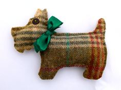 Dried Lavender Bag Large Tweed Scottie in 5 by DaisyBelleShop, £8.50