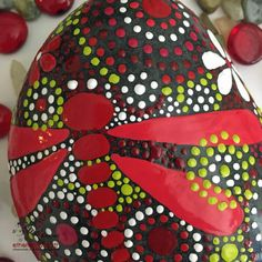 Rock Art Painted Rock Hand Painted Stone by etherealearthrockart