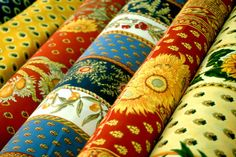 PROVENCE FABRICS - Market, France #travel #France #fabric