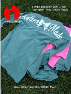 Comfort Color Southern Made Long Sleeve T Shirts on Etsy, $21.00