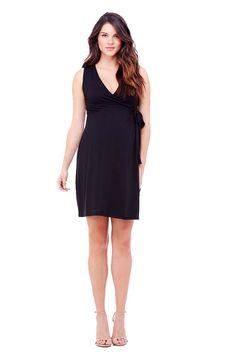 Ingrid & Isabel Sleeveless Maternity Wrap Dress | Maternity Clothes  www.duematernity.com  #spring #fashion #maternity Spring Maternity Fashion