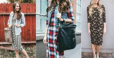 Everyday Tee Dress | Fall Styles