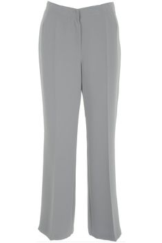Busy Clothing Womens Smart Silver Grey Trousers